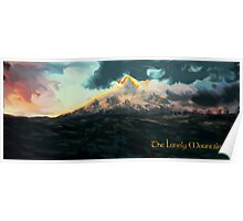 The Hobbit: The Lonely Mountain Poster