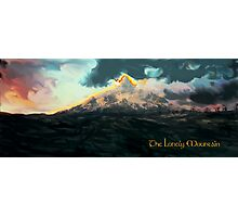 The Hobbit: The Lonely Mountain Photographic Print