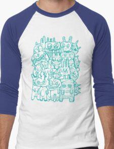 A Gathering of Monsters Men's Baseball ¾ T-Shirt