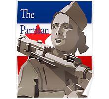 YUGOSLAVIAN PARTISAN  Poster