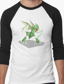 Cutout Scyther Men's Baseball ¾ T-Shirt