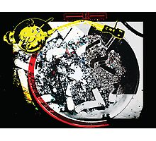 Cigarette Turntable Collage Photographic Print