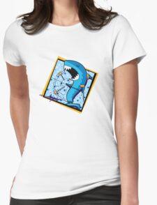 dah dum - shark - signature Womens Fitted T-Shirt