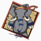 dung fu - elephant - signature by wynnter