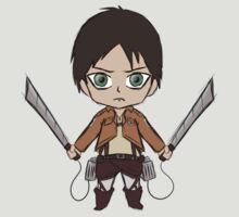 Eren Jaeger Chibi (Attack on Titan) by CalvertSheik