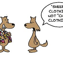 Wolf in Cheap Clothing by Rick Ellis