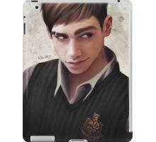 i run your world, moron iPad Case/Skin
