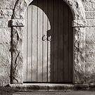 Cemetery Door by AKimball