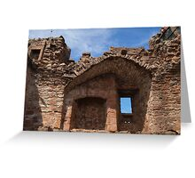 Urquhart Castle Wall Greeting Card