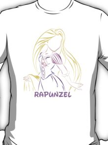 Rapunzel (Personalized, please Bubblemail/email me before ordering) T-Shirt