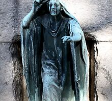 Cemetery Statue by Kelly Morris