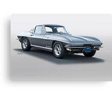 1965 Corvette Stingray Canvas Print