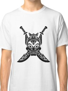 Blue Spirit (black & white) Classic T-Shirt