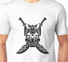 Blue Spirit (black & white) Unisex T-Shirt