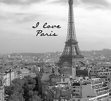 I love Paris by Adrian Alford Photography