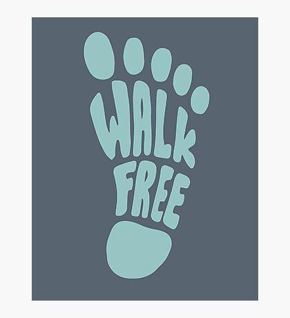 Walk free illustration Photographic Print