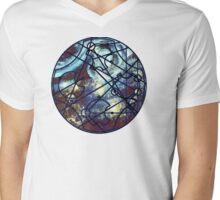 "Dr. Who Gallifreyan ""Dream Improbable Dreams"", with Tardis, steam punk Mens V-Neck T-Shirt"