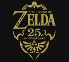 The Legend of Zelda 25th Anniversary by MaxFantasy