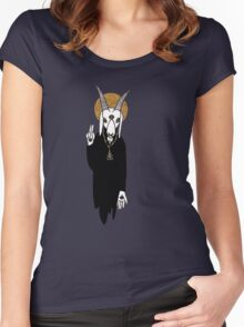 The Goat Priest Women's Fitted Scoop T-Shirt