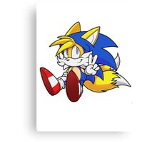 Tails // Sonic Hoodie Canvas Print