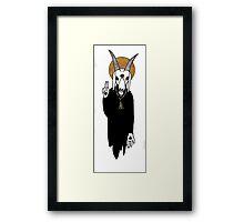 The Goat Priest Framed Print