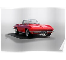 1967 Corvette Convertible Poster