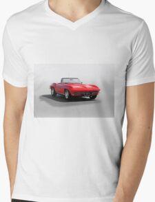 1967 Corvette Convertible Mens V-Neck T-Shirt