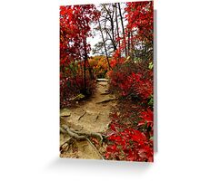 Autumn on the Ridge at Conkle's Hollow Greeting Card