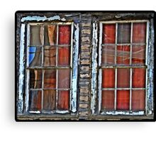 Airmen's Bunker Windows WWII Canvas Print