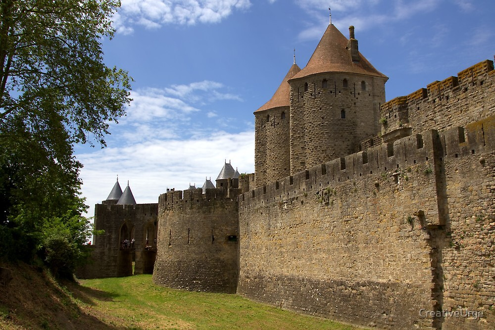 Ramparts of Carcassonne  by CreativeUrge
