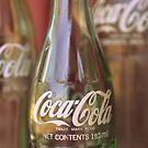 Coco Cola bottles by Julie Sherlock