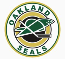 Oakland Seals T-Shirt One Piece - Short Sleeve