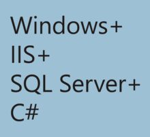 WISC - Windows IIS SQL Server C# Baby Tee