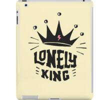 Lonely king iPad Case/Skin