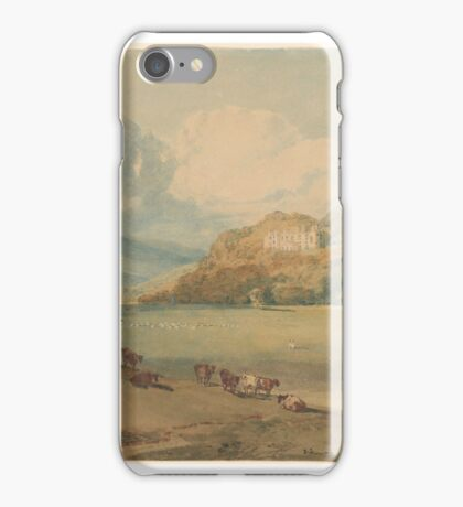 J. M. W. TurnerView of Dunster Castle from the Northeast iPhone Case/Skin