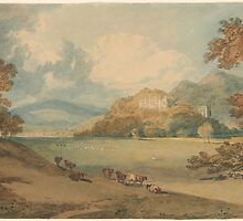 J. M. W. TurnerView of Dunster Castle from the Northeast by Adam Asar