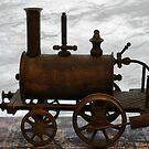 Model train by Julie Sherlock