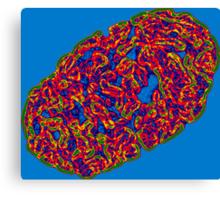 Cell Brains Canvas Print