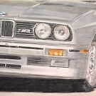 E30 M3 by Peter Brandt