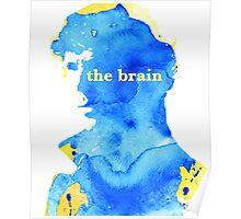 sherlock holmes - the brain Poster