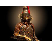 South Korean Warrior Photographic Print