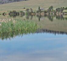 Lake Meadowbank, Tasmania Sticker