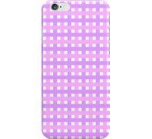 Linda textura con lineas Rosas iPhone Case/Skin