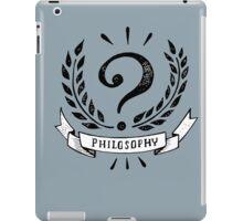 Philosophy? iPad Case/Skin