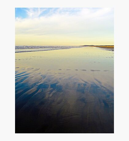 Washington Beach Reflections Photographic Print