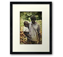 Poverty Framed Print