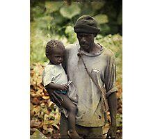 Poverty Photographic Print