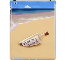 Message in the bottle iPad Case/Skin