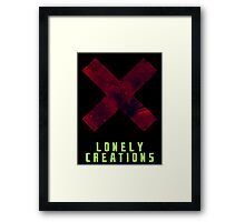 Lonely Creations X Galaxy Framed Print