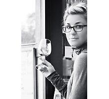 Wine Tasting at Kelsey Wines in San Luis Obispo, CA Photographic Print
